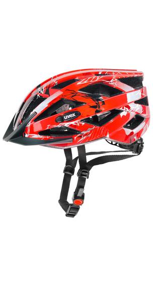 UVEX i-vo c hjelm rød